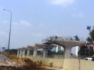 Metro số 1 ở TP HCM sẽ hoàn thành năm 2017